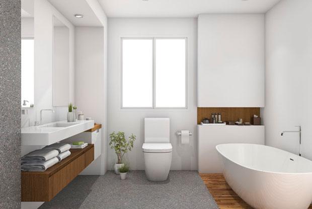 selitev, čiščenje, montaža in demontaža kopalnice